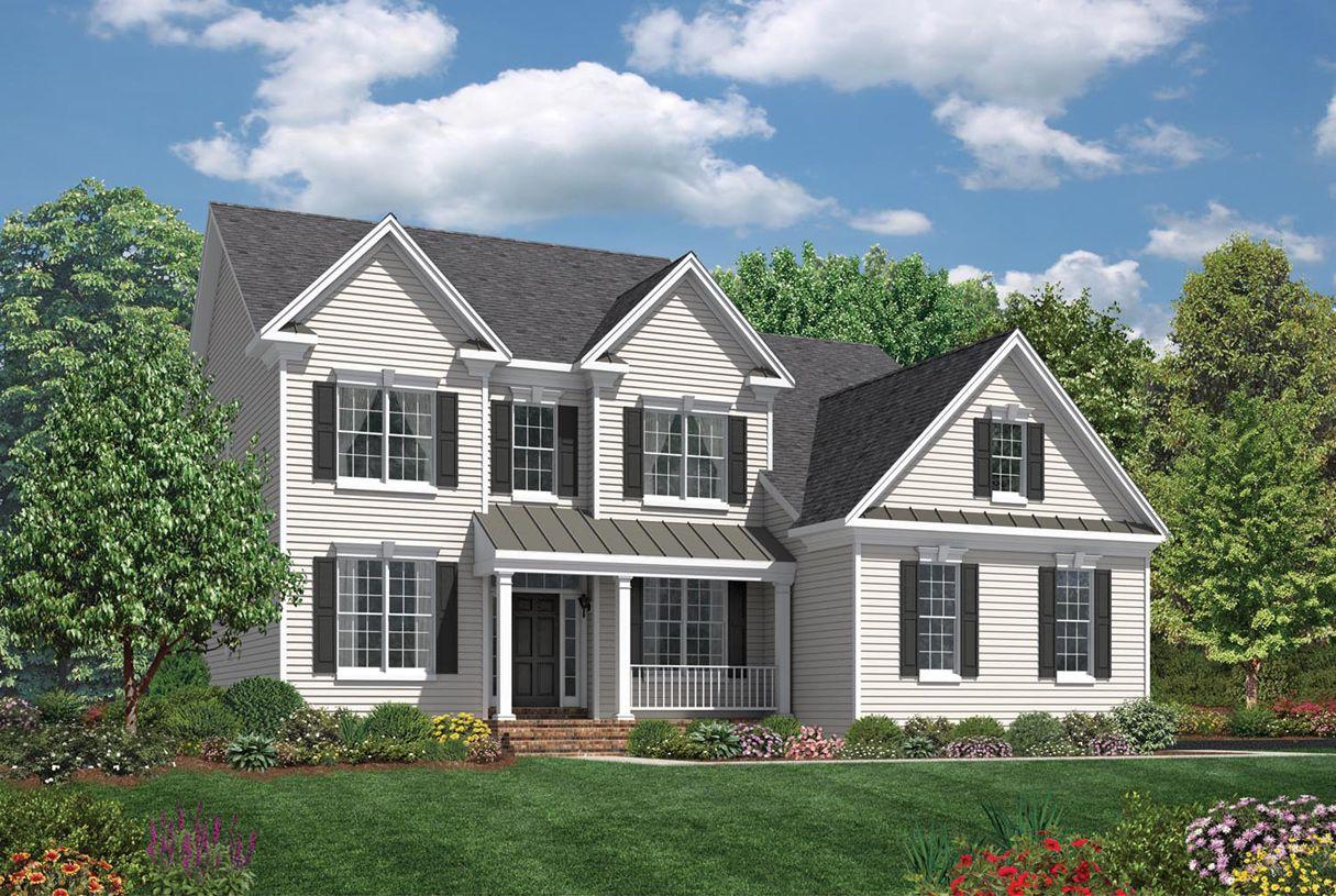 Single Family for Active at Glastonbury Estates - Ellsworth Ii 2840 Hebron Avenue Glastonbury, Connecticut 06033 United States