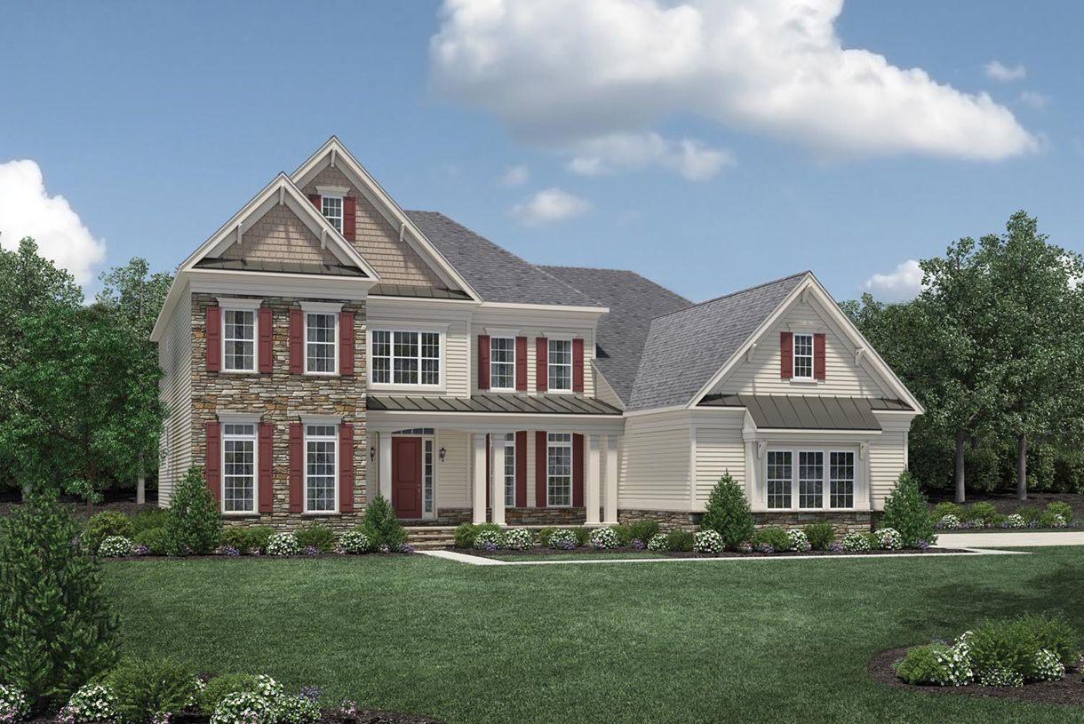 Single Family for Active at Estates At Bamm Hollow - Hollister 6 Strathmore Road Lincroft, New Jersey 07738 United States
