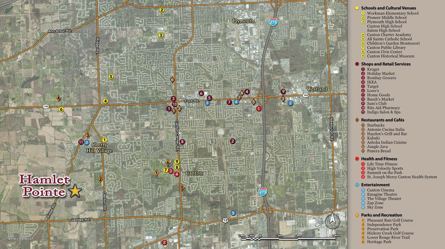 单亲家庭 为 销售 在 Columbia Ii 51182 Gulfstream Park Lane Canton, Michigan 48188 United States