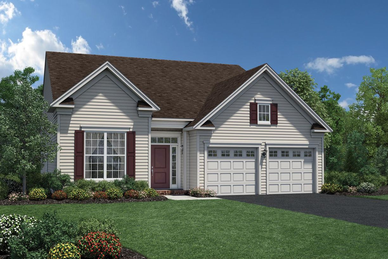 Один семья для того Продажа на Regency At Monroe - Binghamton 530 Buckelew Avenue Monroe Township, New Jersey 08831 United States