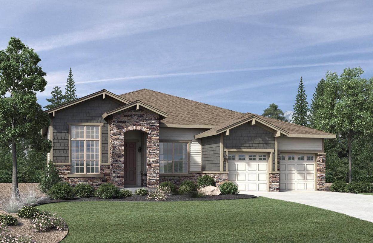 单亲家庭 为 销售 在 Trelease 22911 E Del Norte Circle Aurora, Colorado 80016 United States