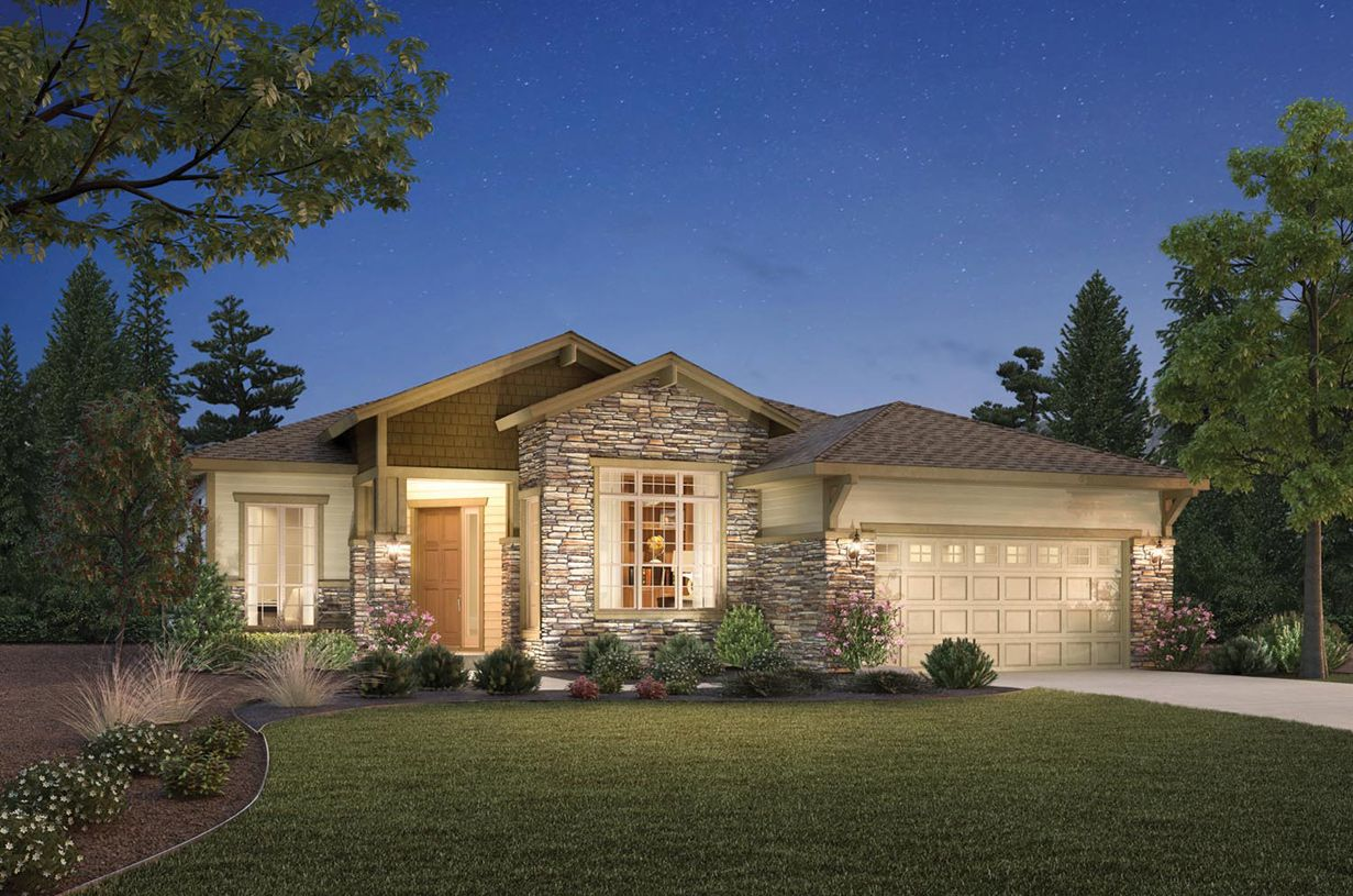 Single Family for Sale at Toll Brothers At Inspiration - Broomfield Collection - Pendleton 8393 South Winnipeg Court Aurora, Colorado 80016 United States