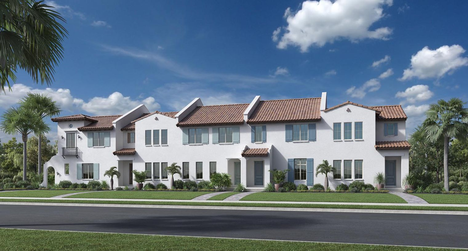 Lakeshore Townhomes New Homes In Winter Garden Fl By