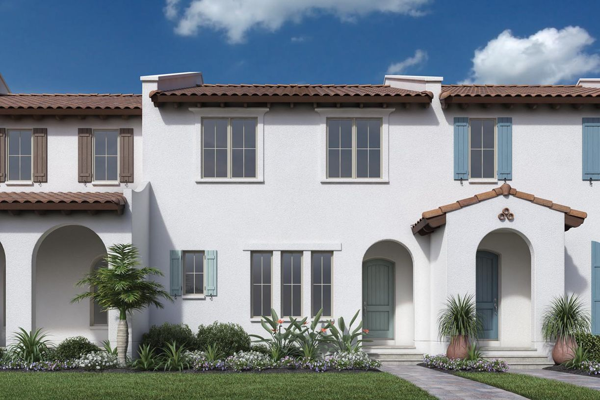 lakeshore townhomes new homes in winter garden fl by toll brothers