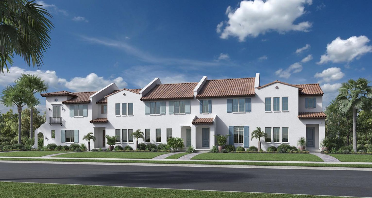Toll Brothers Lakeshore Townhomes Sorrento Fl