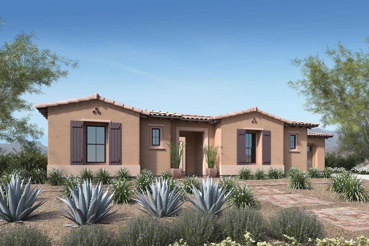 Single Family for Sale at Treviso - Aracena 10798 E. Via Cortana Road Scottsdale, Arizona 85262 United States