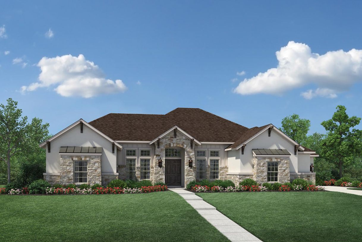Single Family for Sale at Parkside At Fairview - Kingston 1700 Big Bend Blvd. Fairview, Texas 75069 United States