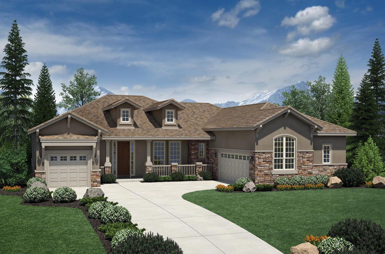 Single Family for Sale at Anthem Ranch By Toll Brothers - The Boulder Collection - Warren 4135 San Luis Way Broomfield, Colorado 80023 United States