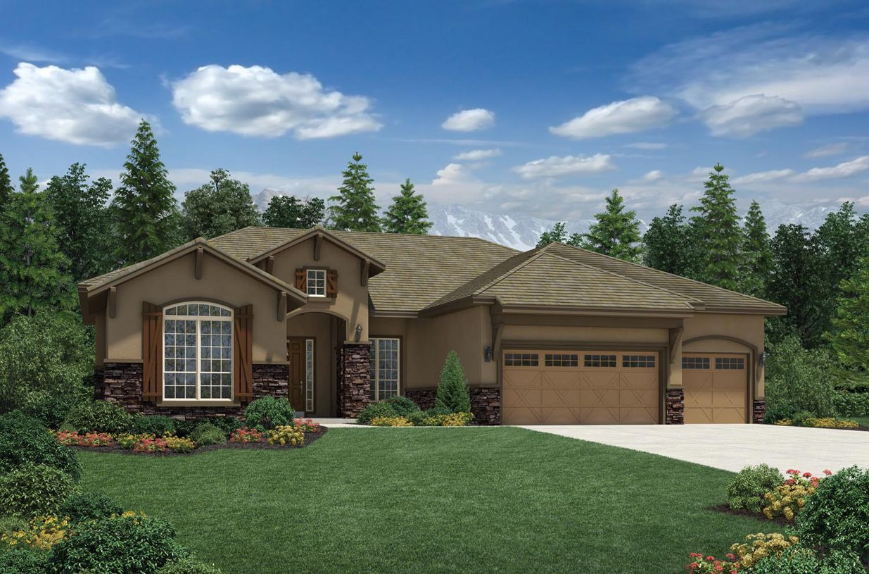 Single Family for Sale at Anthem Ranch By Toll Brothers - The Boulder Collection - Venable 4135 San Luis Way Broomfield, Colorado 80023 United States