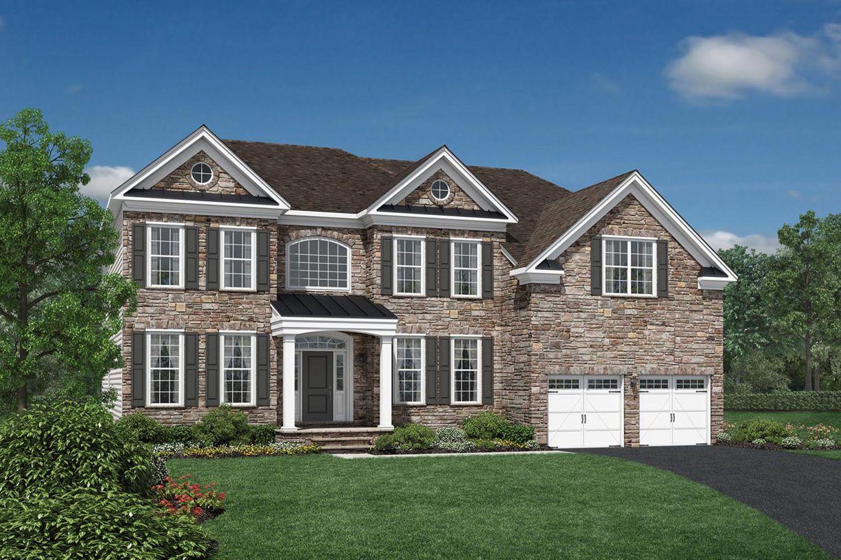 Single Family for Active at Laurel Ridge - The Glen - Duke 703 Dowers Road Abingdon, Maryland 21009 United States