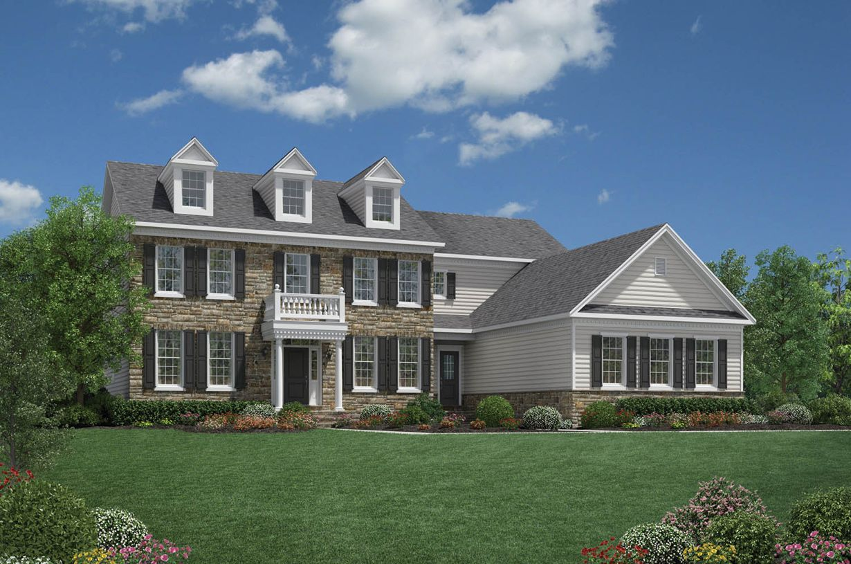 Toll brothers liseter the bryn mawr collection chelsea for Newtown builders