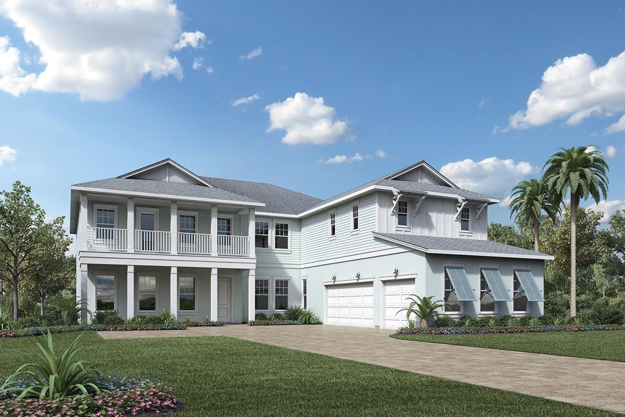 Single Family for Active at Coastal Oaks At Nocatee - Estate & Signature Collections - Clarkson 77 Portsmouth Bay Avenue Ponte Vedra, Florida 32081 United States