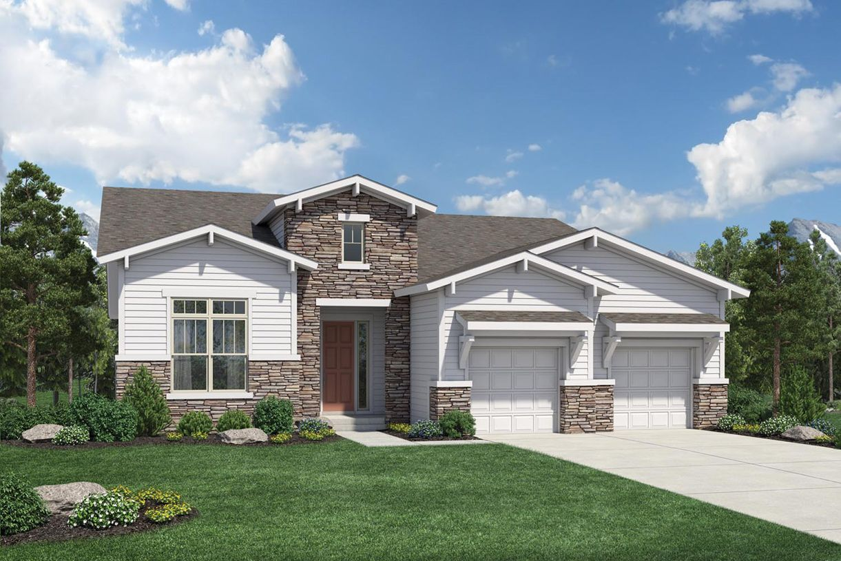 Single Family for Sale at Toll Brothers At Inspiration - Broomfield Collection - Durango 8393 South Winnipeg Court Aurora, Colorado 80016 United States