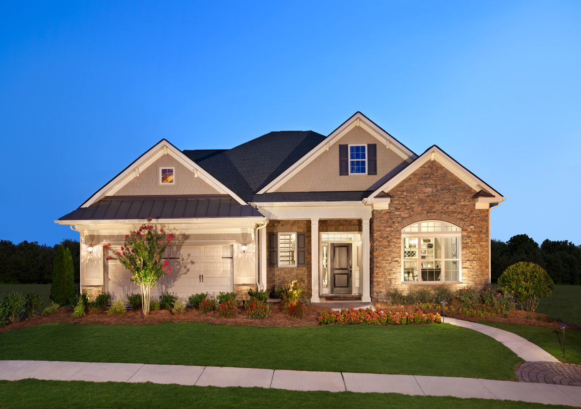 Regency at palisades new homes in charlotte nc by toll for Charlotte house
