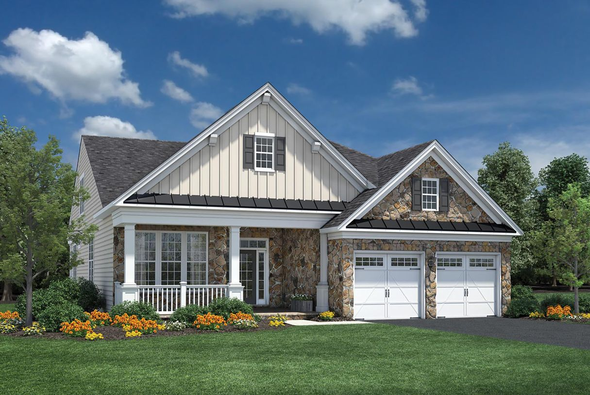 Single Family for Active at Regency At Creekside - The Potomac Collection - Deerfield 13788 Long Ridge Drive Gainesville, Virginia 20155 United States