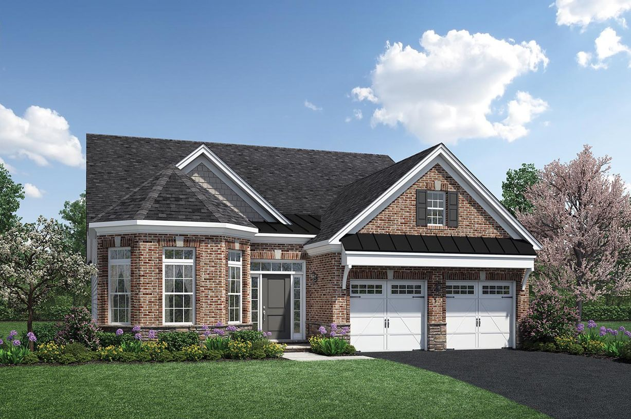 Single Family for Active at Regency At Creekside - The Potomac Collection - Fairchild 13788 Long Ridge Drive Gainesville, Virginia 20155 United States