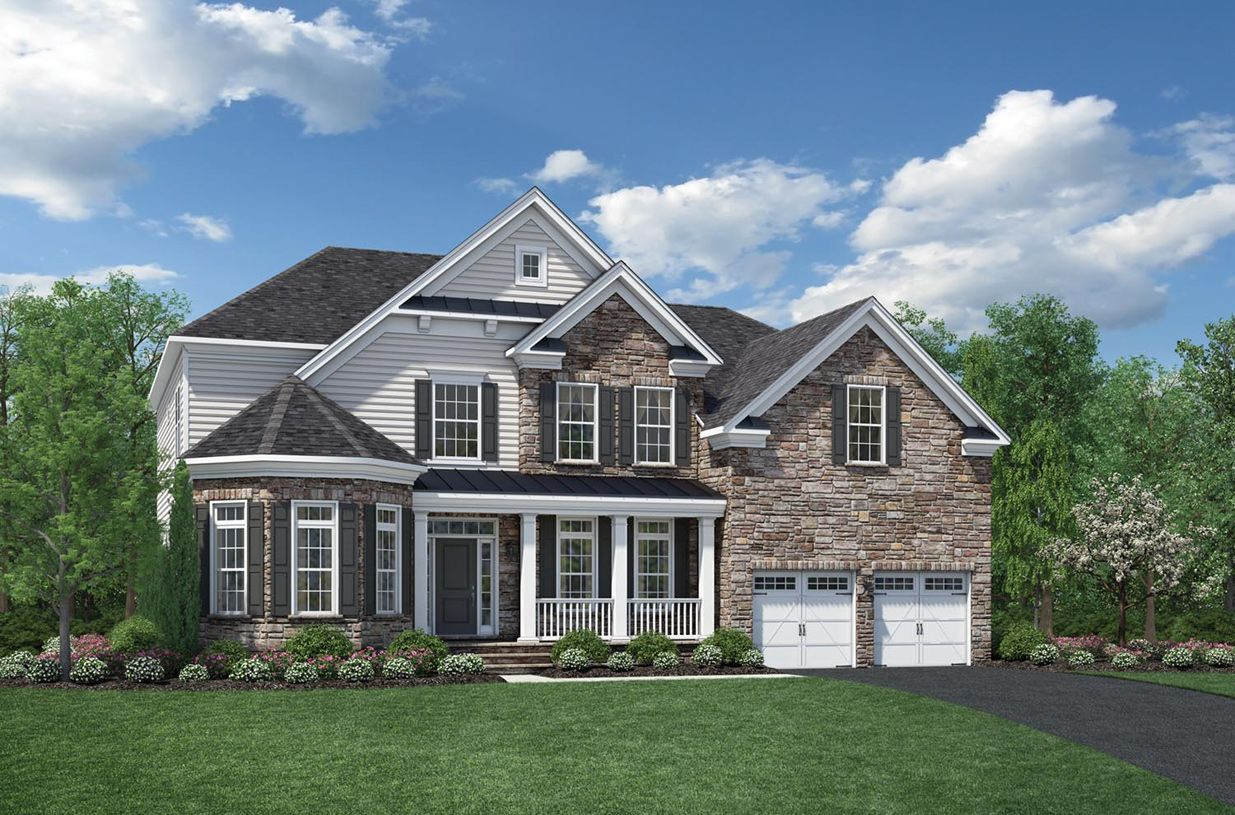 Trails At Dominion Park Floor Plans 5855 Waterloo Bridge Circle Haymarket Va New Home For