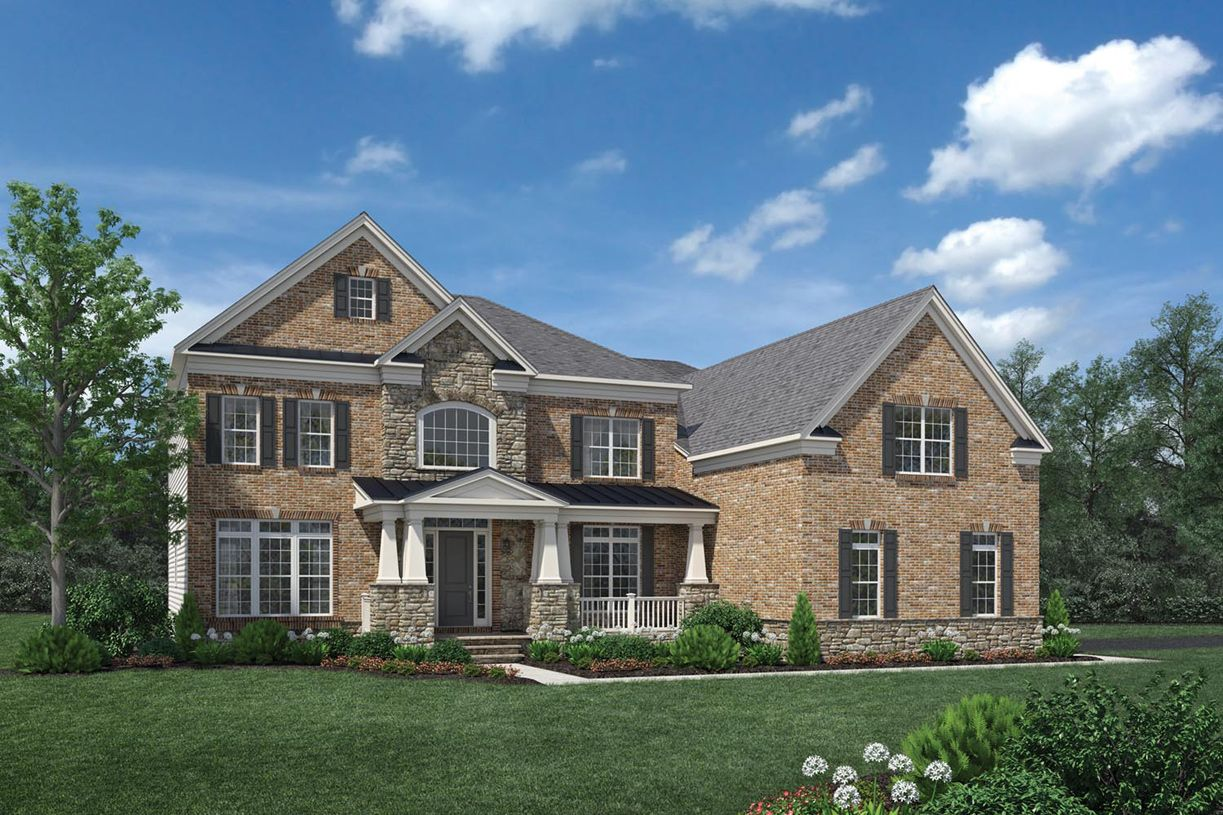 Single Family for Active at Dominion Valley Country Club - Estates - Hollister 15145 Sky Valley Drive Haymarket, Virginia 20169 United States