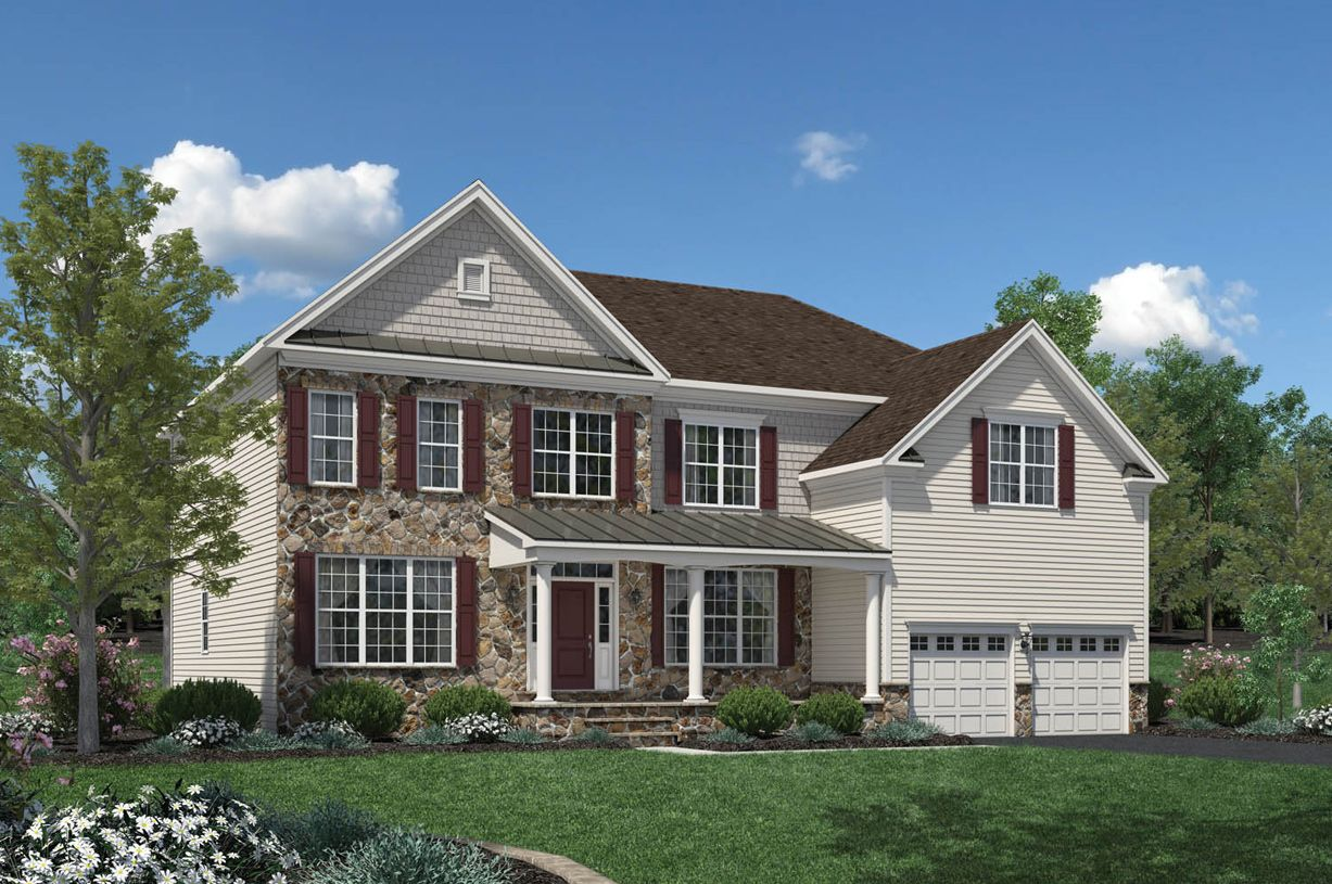 Single Family for Sale at High Pointe At St. Georges - Carolina Collection - Duke 1100 Casey Drive New Castle, Delaware 19720 United States