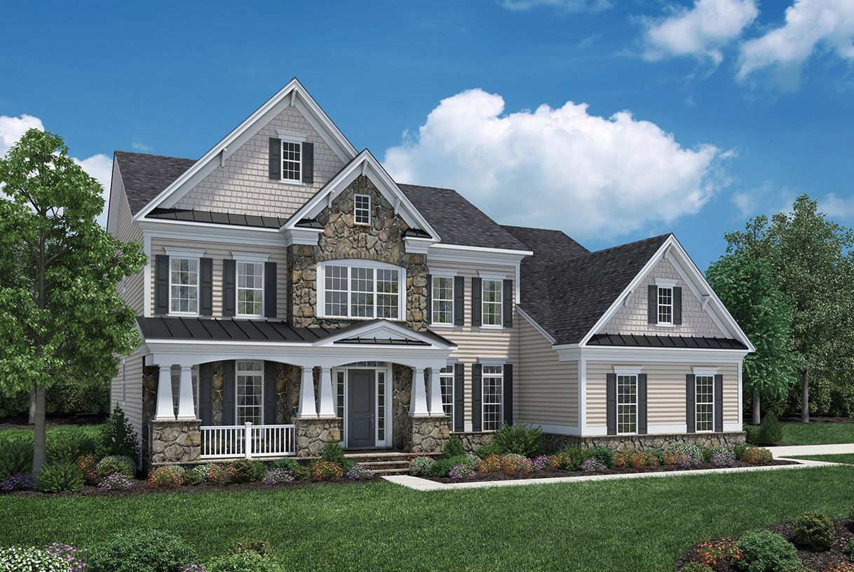 Toll brothers trotters glen weatherstone 1141752 olney for Modern homes for sale in maryland
