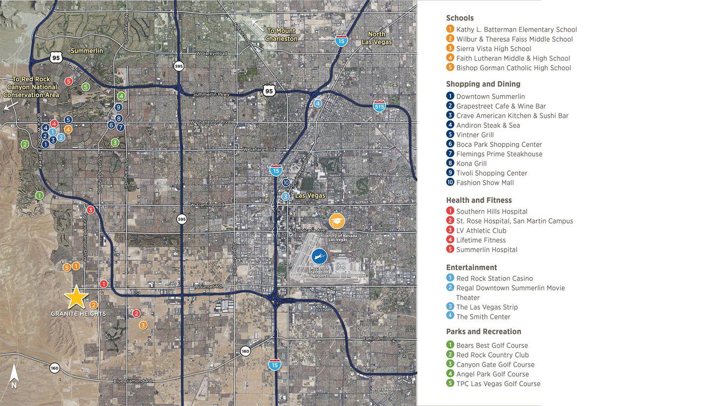 Single Family for Active at Topaz 6293 Clovis Point Street Las Vegas, Nevada 89135 United States