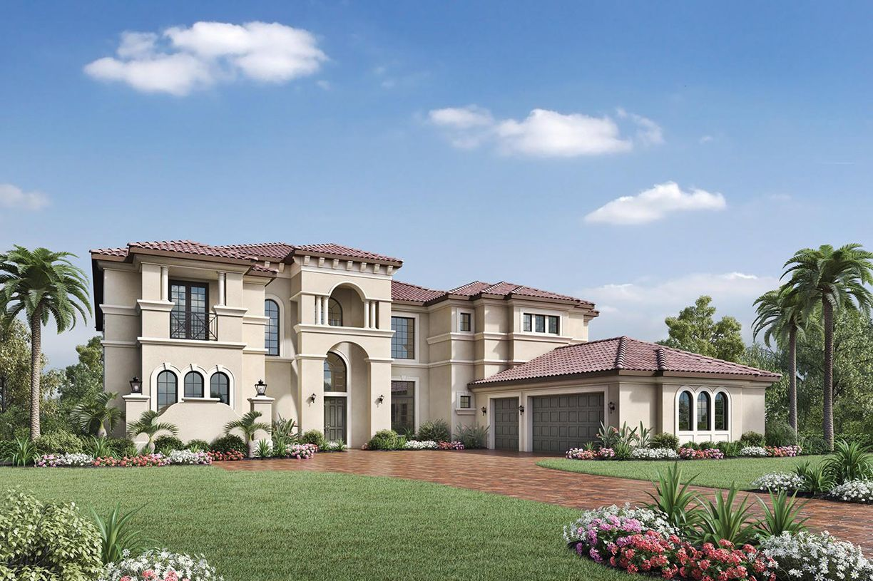 Unique la famille pour l Vente à Royal Palm Polo - Signature Collection - Villa Lago 2703 Nw 71st Boulevard Boca Raton, Florida 33496 United States