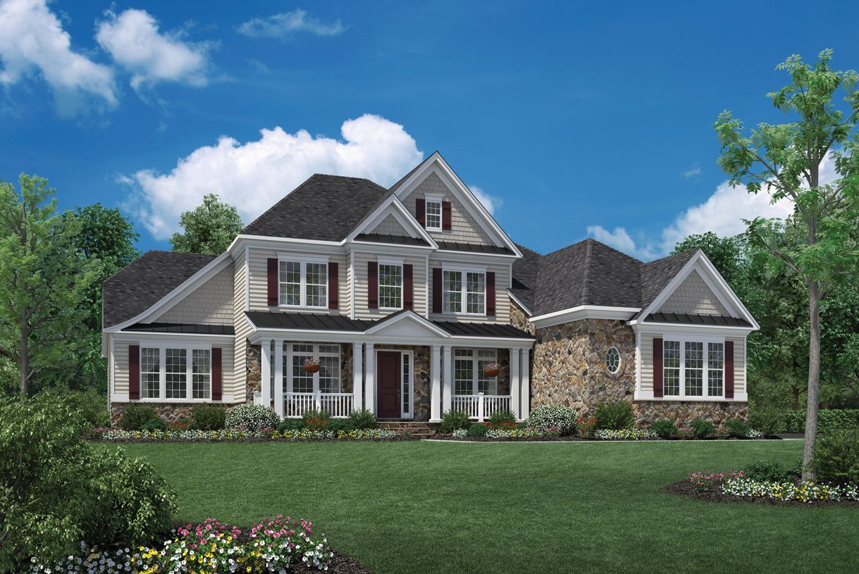 Single Family for Active at Dominion Valley Country Club - Estates - Raphael 15145 Sky Valley Drive Haymarket, Virginia 20169 United States