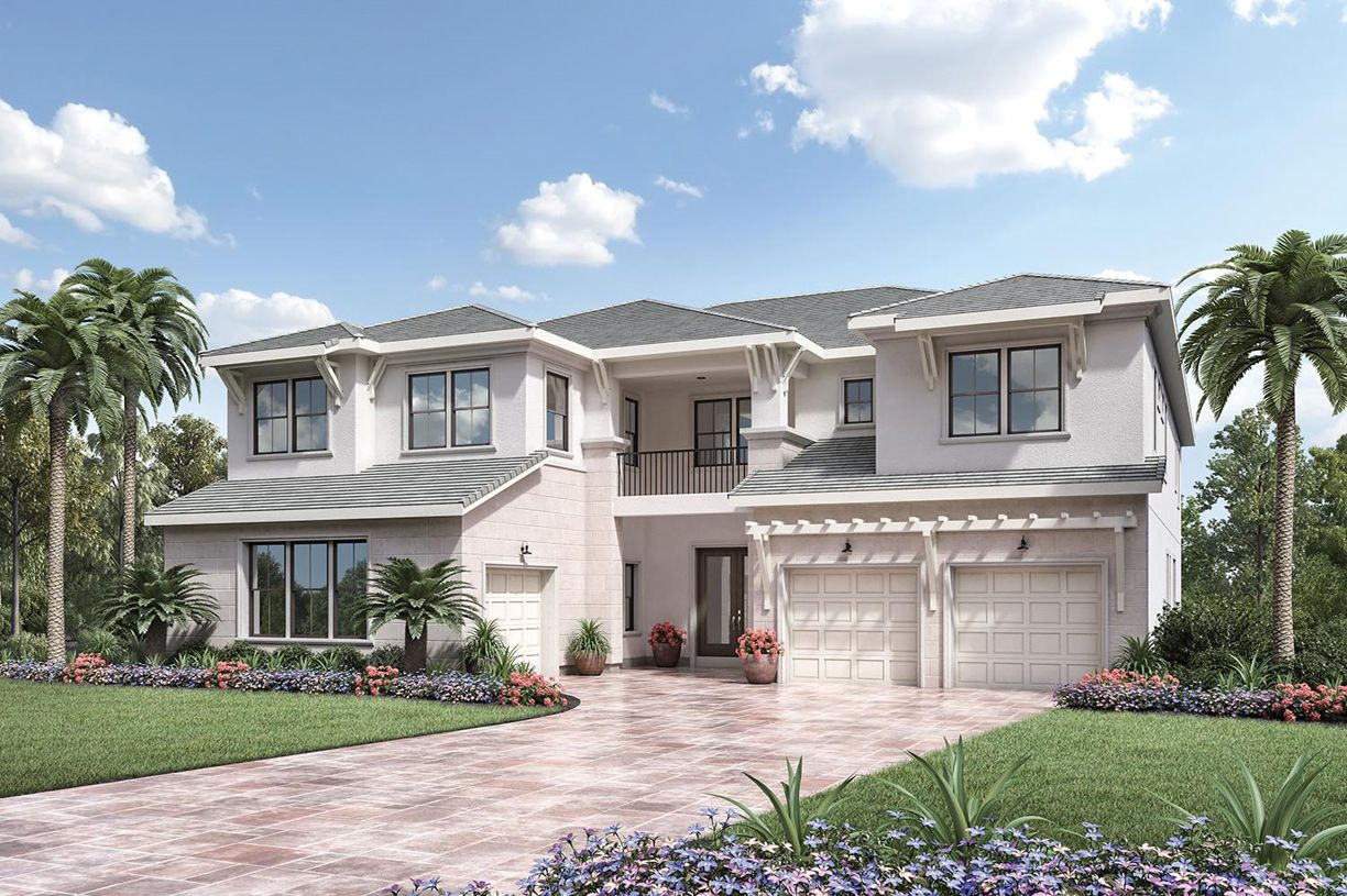 Single Family for Sale at Royal Palm Polo - Signature Collection - Cosenza Ii 2703 Nw 71st Boulevard Boca Raton, Florida 33496 United States