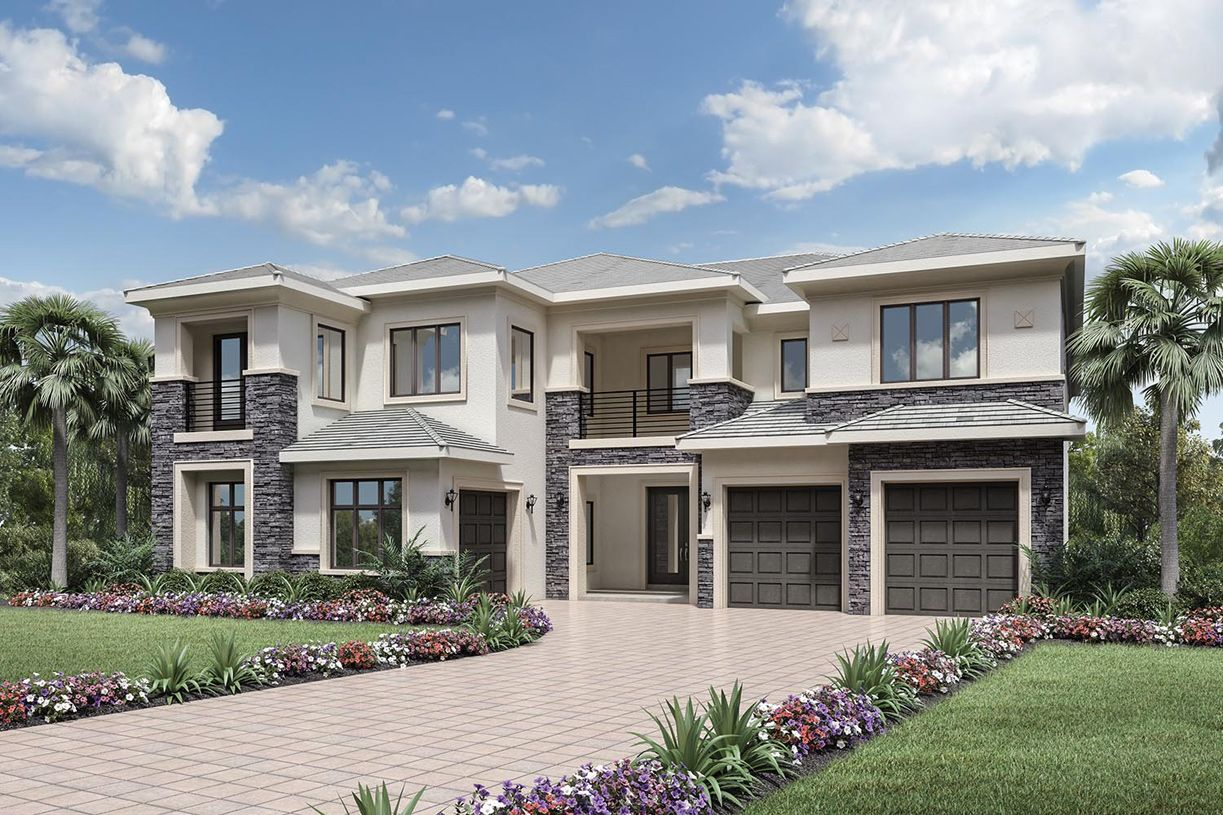 Cosenza ii royal palm polo signature collection in boca for Sig homes