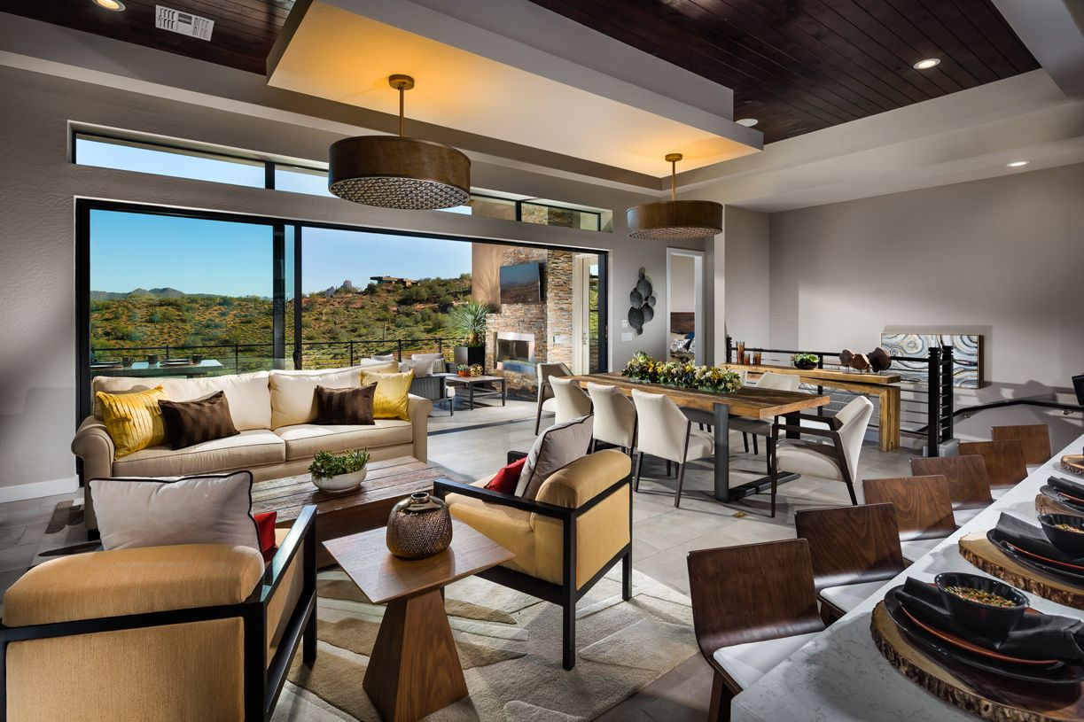 Toll brothers the overlook at firerock rushmore estate for Firerock fireplace cost