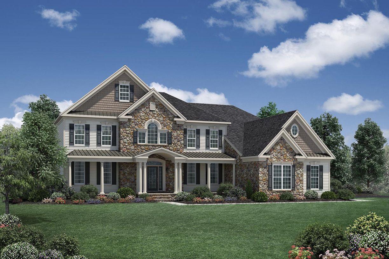 Single Family for Active at Glastonbury Estates - Hampton 2840 Hebron Avenue Glastonbury, Connecticut 06033 United States