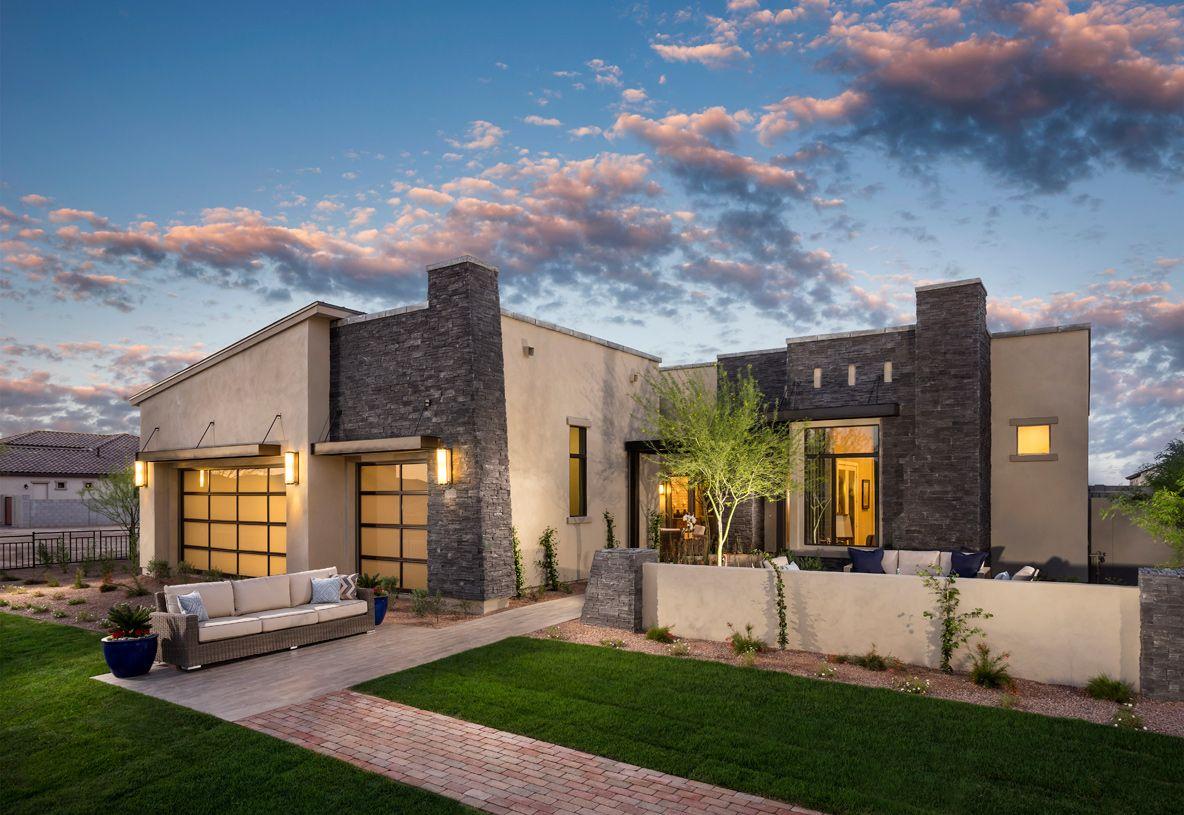 Calliandra estates new homes in gilbert az by toll brothers for Modern homes arizona