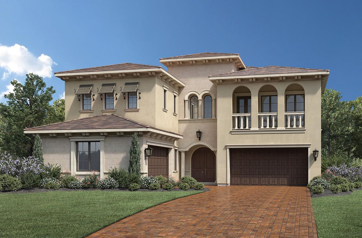 Toll brothers bella vista at orchard hills lusso 1361934 for Lusso home