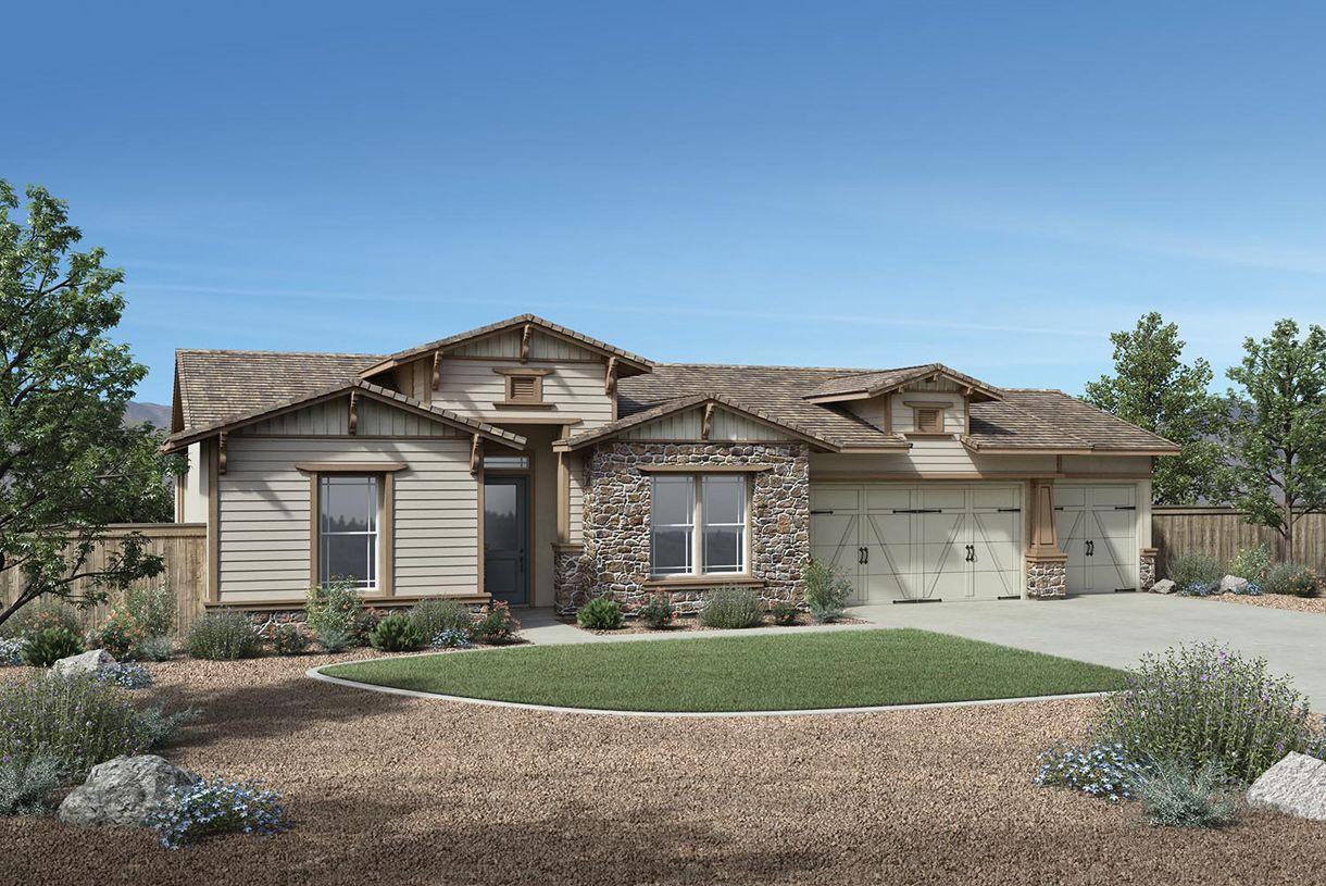 单亲家庭 为 销售 在 Regency At Damonte Ranch - Woodridge Collection - Clay Hill Elite 9915 Hafflinger Lane Reno, Nevada 89521 United States