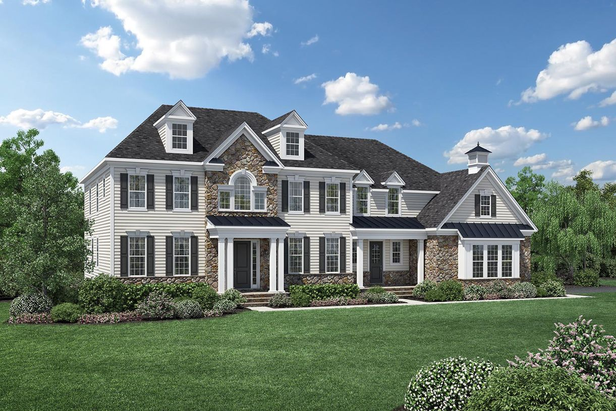 Single Family for Sale at Lenah Mill - The Estates - Weatherstone 41288 Lavender Breeze Circle Aldie, Virginia 20105 United States