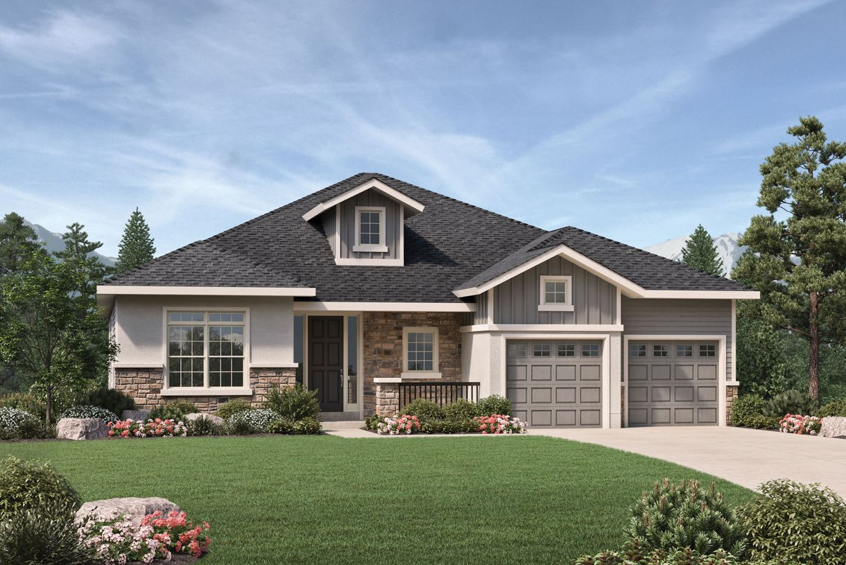 Single Family for Sale at The Hills At Parker - Breckenridge 21962 E. Idyllwilde Drive Parker, Colorado 80138 United States