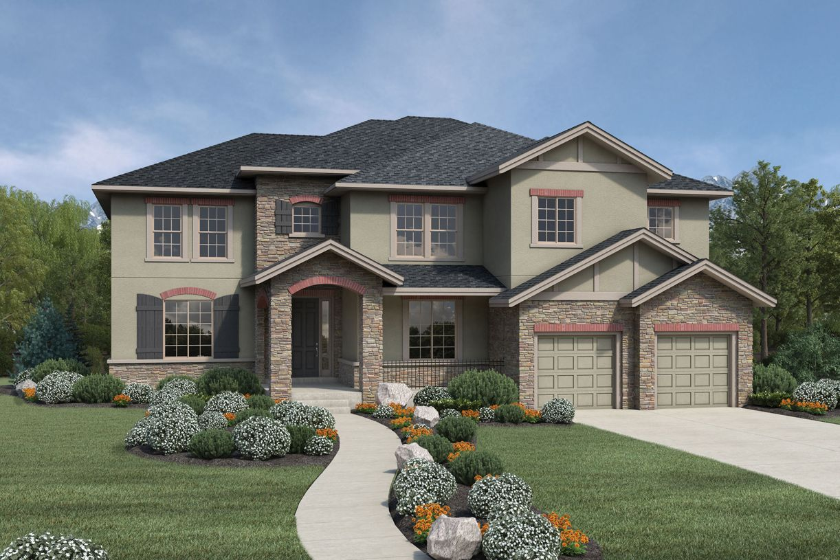 Single Family for Sale at Vista Point At Southshore - Valmont 27391 E. Lakeview Drive Aurora, Colorado 80016 United States