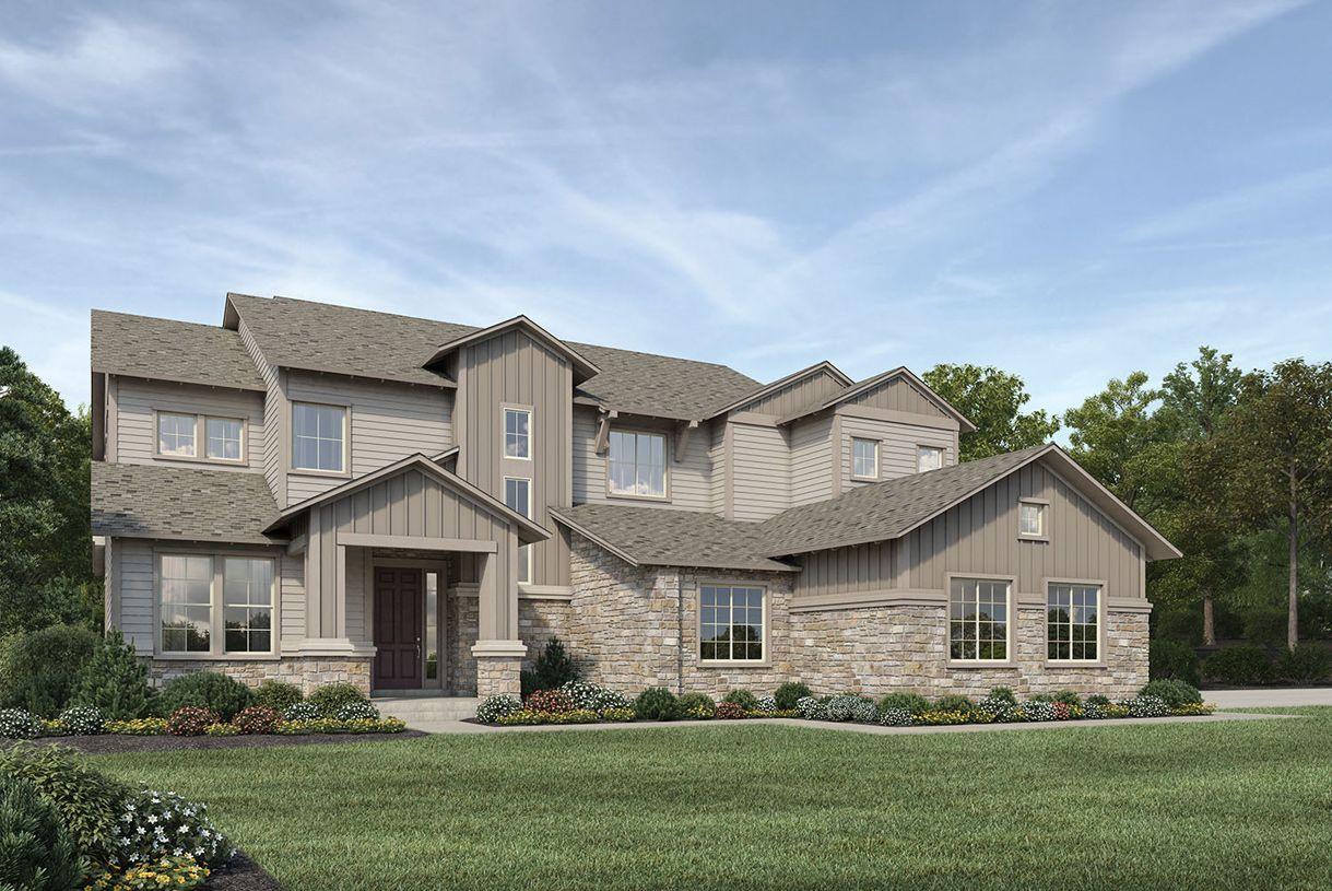 Single Family for Active at The Estates At Kechter Farm - Orion 6114 Hawks Perch Lane Fort Collins, Colorado 80528 United States