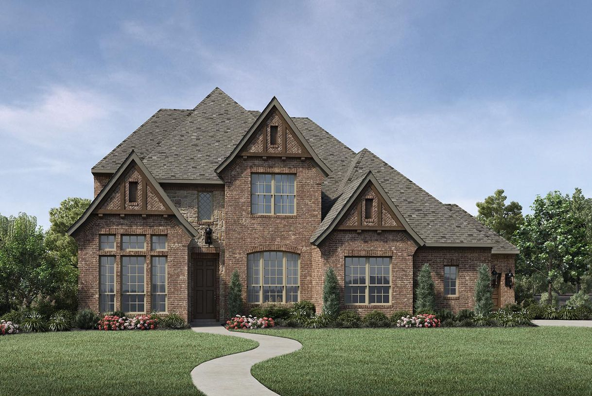 Single Family for Sale at Terracina At Flower Mound - Newcastle 6637 Via Italia Drive Flower Mound, Texas 75077 United States