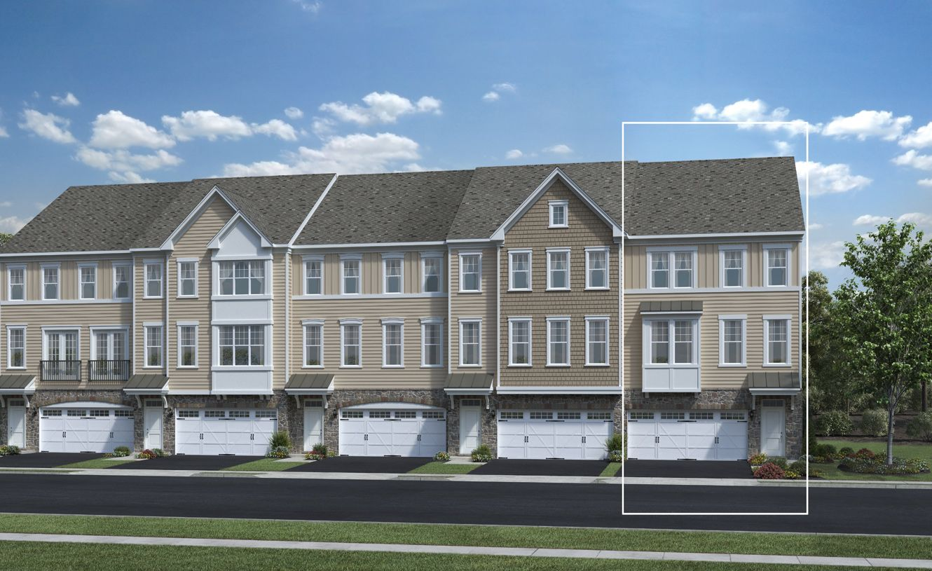 Townes at Chester Springs, Downingtown, PA Homes & Land - Real Estate