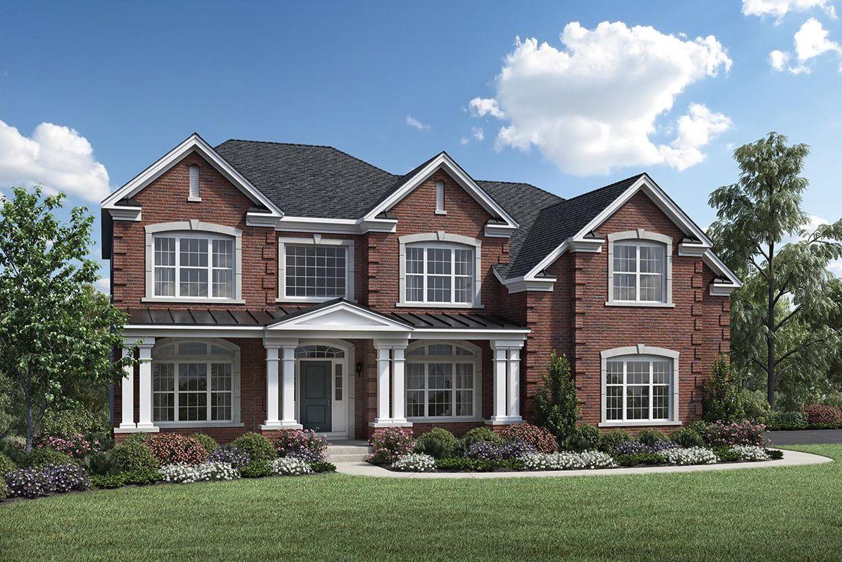 Single Family for Sale at New Britain Woods - Duke 103 Haines Court Line Lexington, Pennsylvania 18932 United States