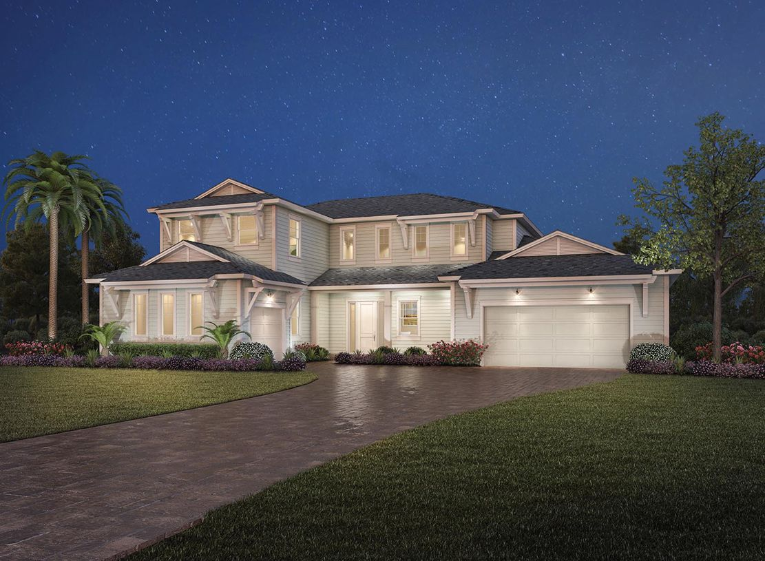 Single Family for Active at Coastal Oaks At Nocatee - Estate & Signature Collections - Abigail 77 Portsmouth Bay Avenue Ponte Vedra, Florida 32081 United States