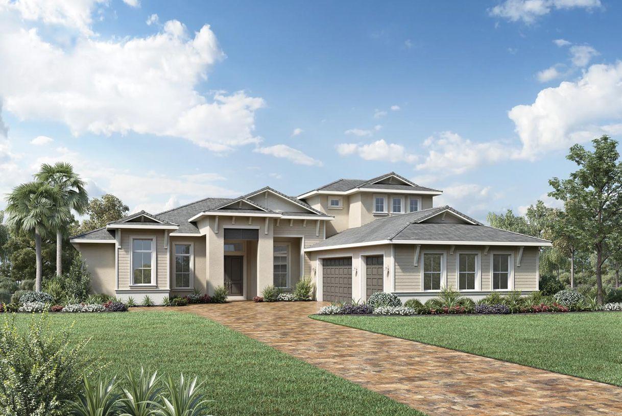 单亲家庭 为 销售 在 The Isles At Lakewood Ranch - Estate - Sandpiper Elite 17523 Fairwinds Drive Lakewood Ranch, Florida 34202 United States