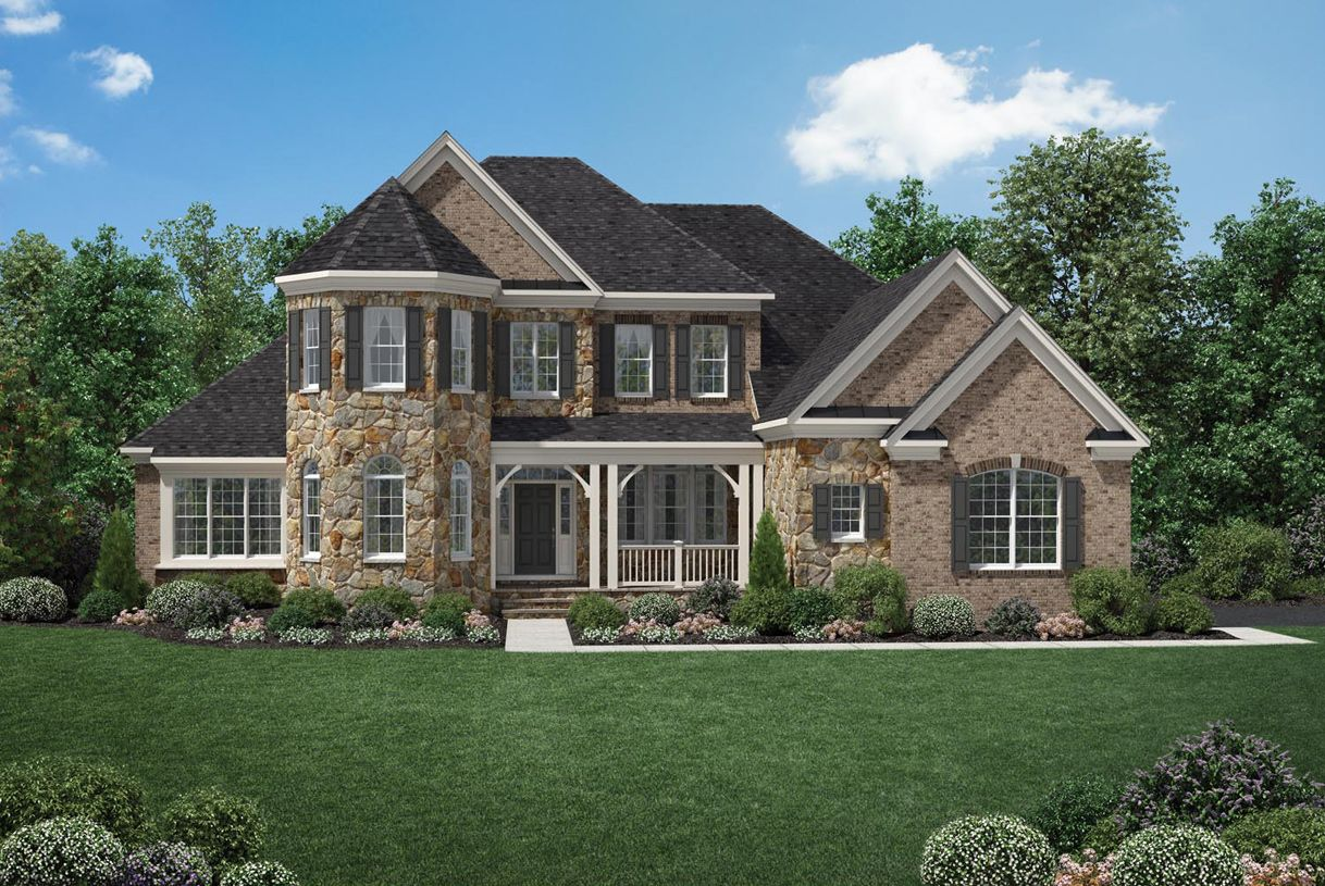 Toll brothers shenstone reserve hampton 879893 leesburg for Modern homes for sale in virginia