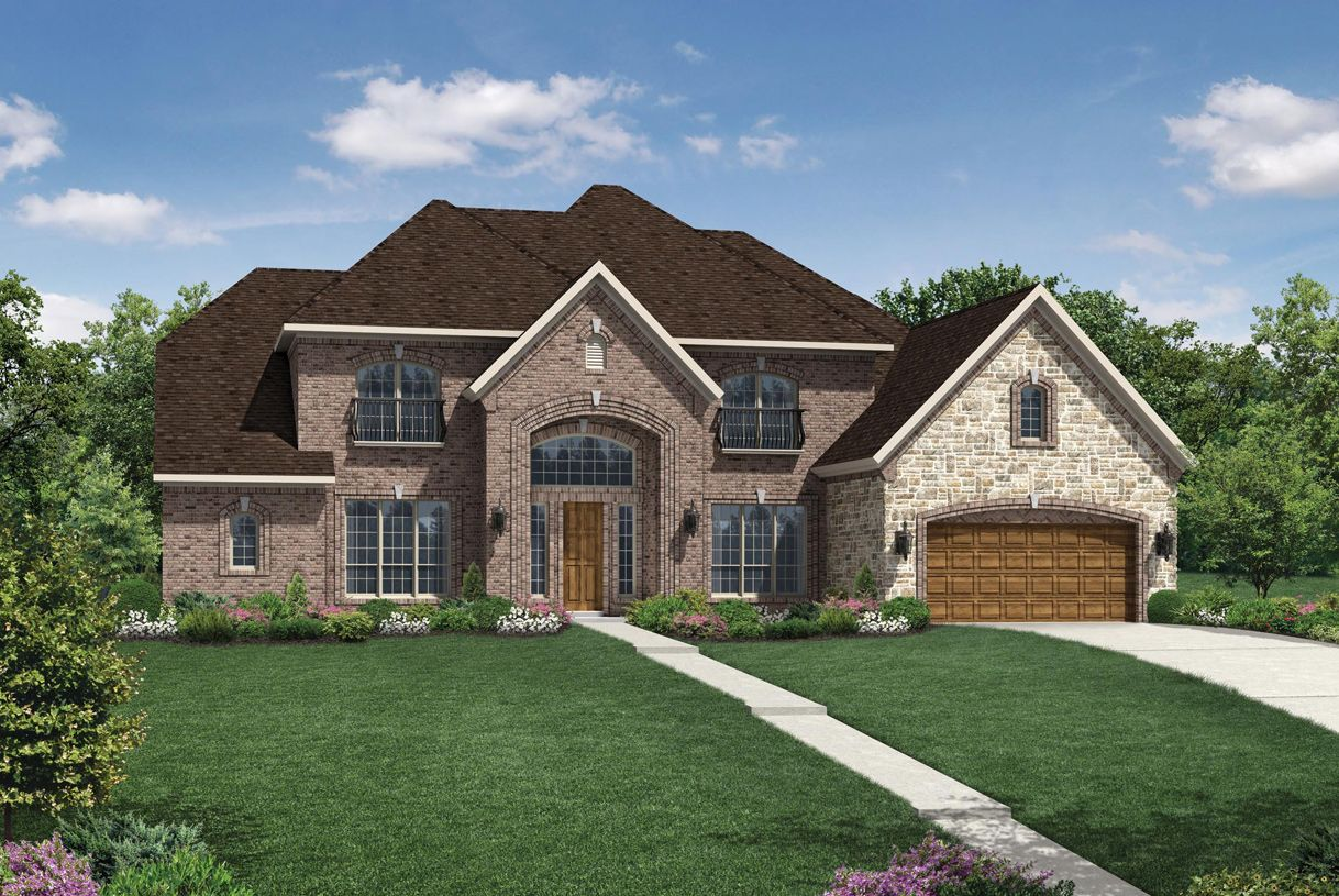 Single Family for Active at Woodson's Reserve - Estate Collection - Merida 3923 Rolling Thicket Drive Spring, Texas 77386 United States