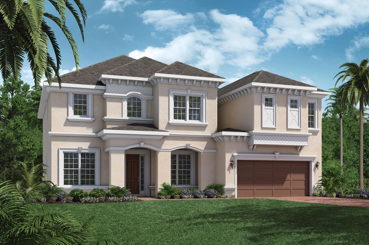 Edgewater coastal oaks at nocatee ambassador collection for Edgewater homes