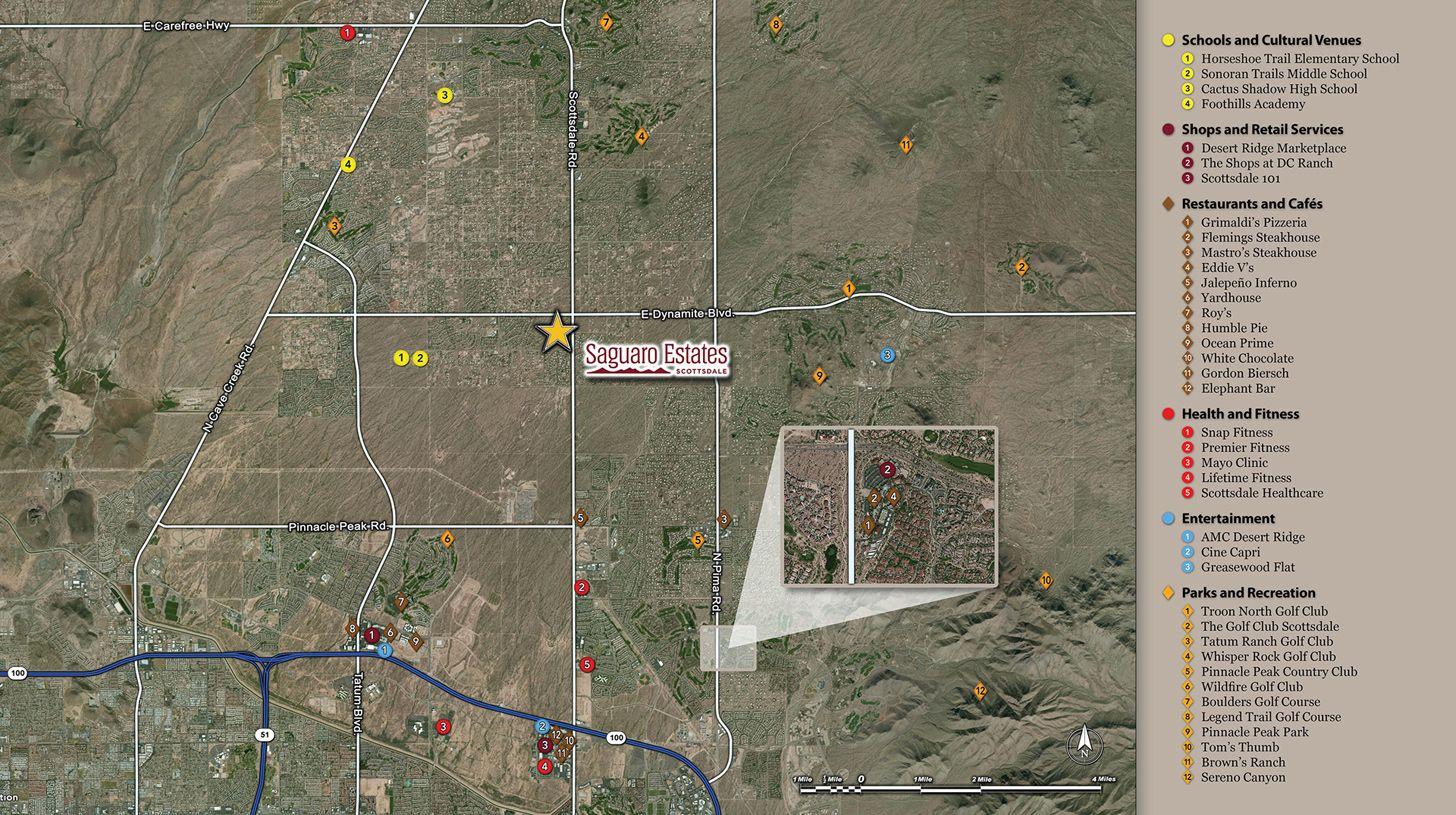 Single Family for Sale at Solandra 27684 N 71st Street Scottsdale, Arizona 85266 United States