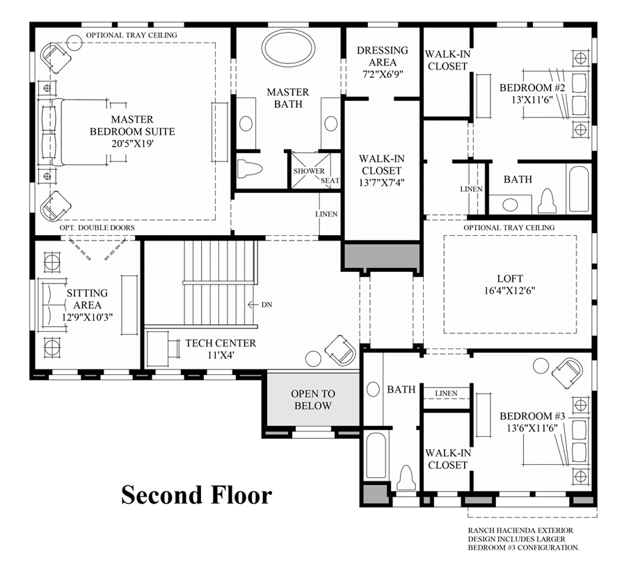 Aldea az toll brothers at avian meadows in chandler for Arizona floor plans