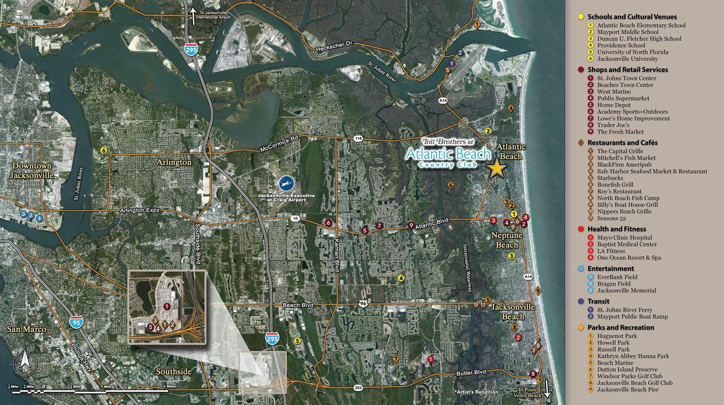 Single Family for Sale at San Tropez 605 Timberbridge Lane Atlantic Beach, Florida 32233 United States
