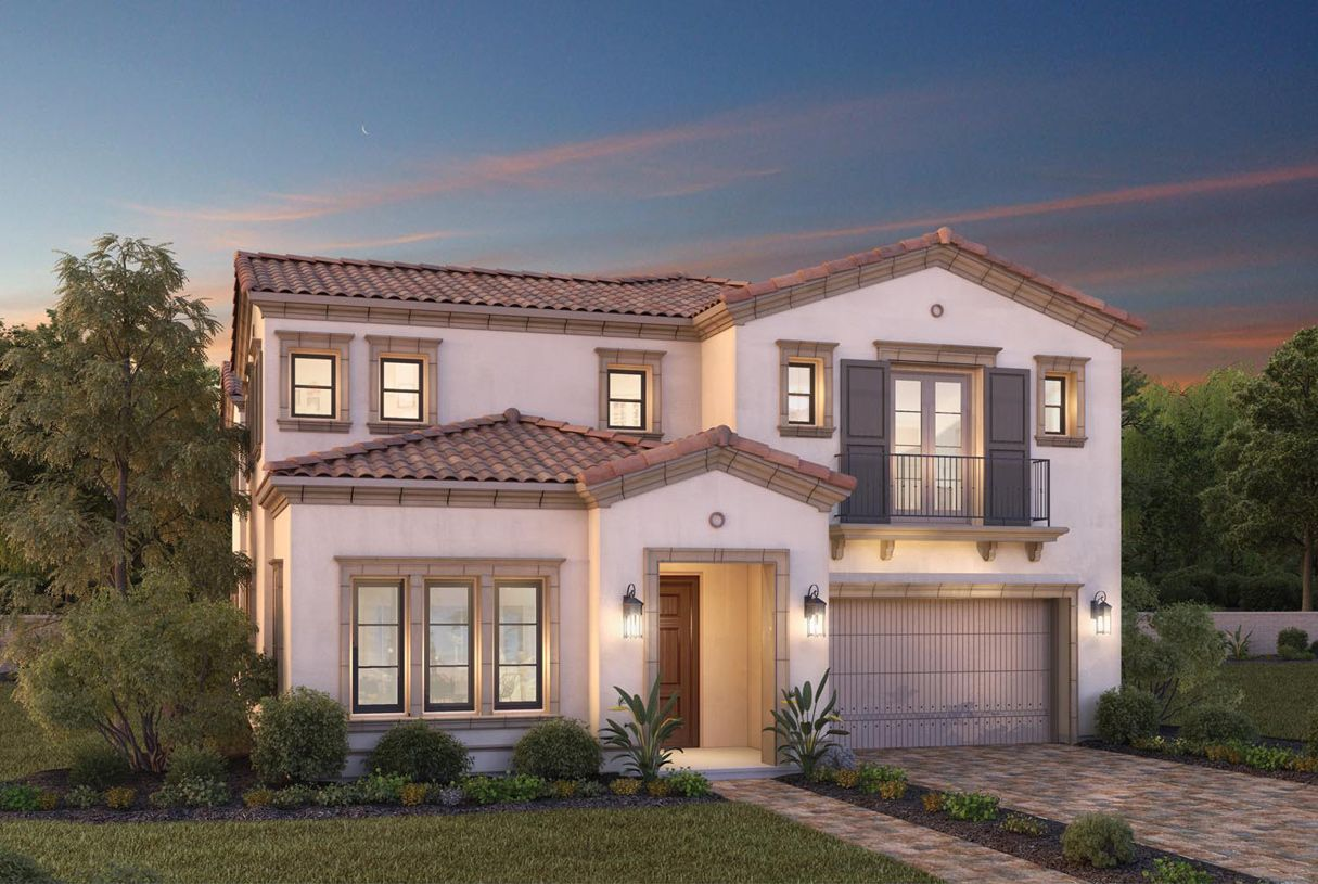 Single Family for Sale at Toll Brothers At Hidden Canyon - Capri Collection - Ojai 127 Amber Sky Irvine, California 92618 United States